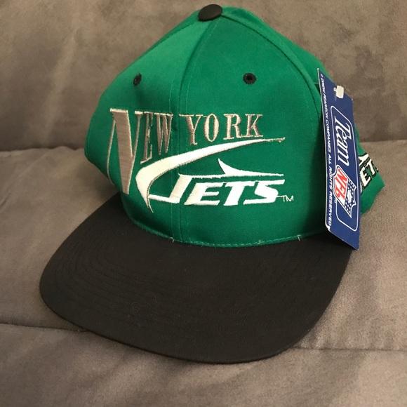 82c22282dcd New York Jets Vintage Hat SnapBack tags